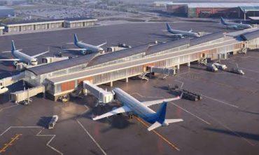 piso industrial para aeroporto