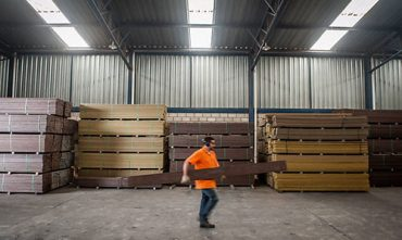 piso industrial para fabrica