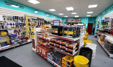 piso industrial para loja de materiais de construcao