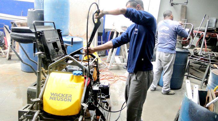 pisos industriais concreto item pisos manutencao