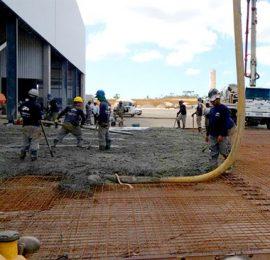 Piso Industrial para galpao logistico para a tecsis item pisos industriais bahia LISTAGEM